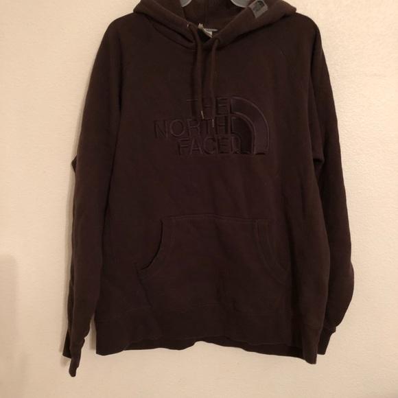 8a7404e6975d The NorthFace Chocolate Brown sweatshirt hoodie L.  M 5a8e2913c9fcdfcb7d6510a9
